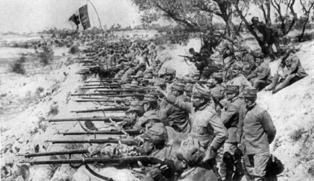 Los italianos entran a la guerra