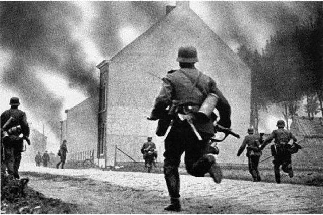 Ultimo ataque aleman a los franceses