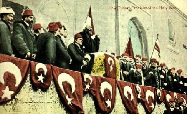 Turcos hacen pedido de armisticio
