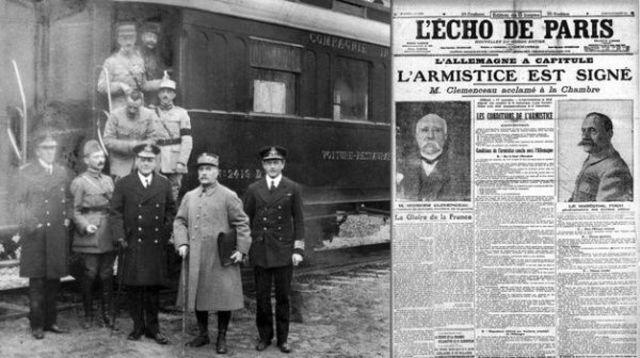 Los aliados aceptan pedido de armisticio aleman