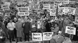 Labor Unions in the United States timeline