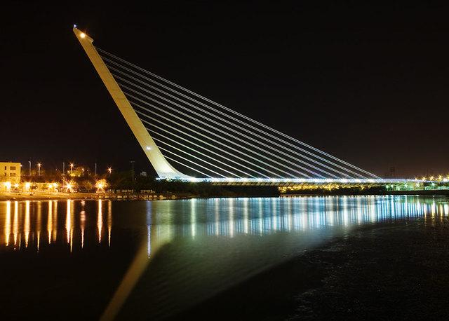 Bridge of Alamillo of Sevilla