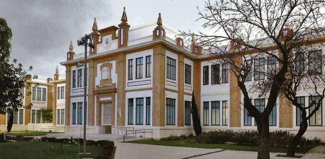 Russian Museum Saint Petersburg in the old tobacco factory of Malaga