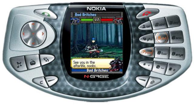 Nokia N-Gage.