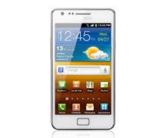 Samsung Galaxy SII.