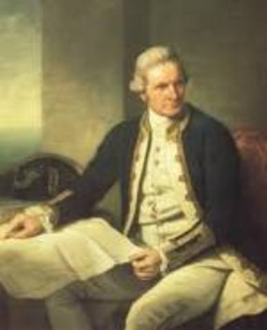 Australia: Captain James Cook