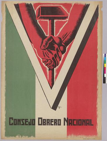 Se forma el consejo nacional obrero.