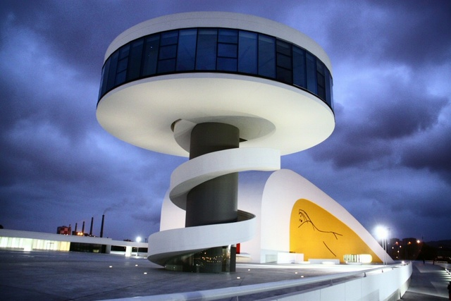Niemeyer centre.