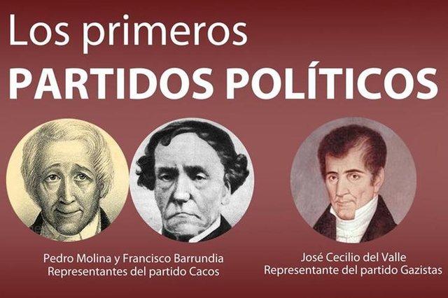 Se forman algunos de los primeros partidos políticos