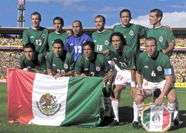 México iba a la copa mundial
