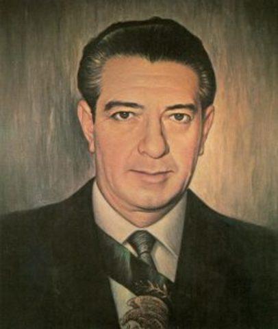 Adolfo López Mateos es el nuevo presidente