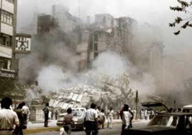 Terremoto en la ciudad de México, el más fuerte en la historia