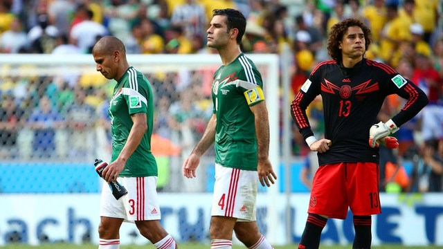 La selección de fútbol mexicana es eliminada del campeonato mundial