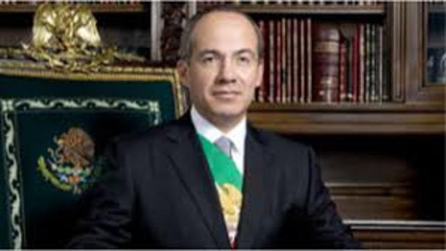 Felipe Calderón es electo en México como presidente
