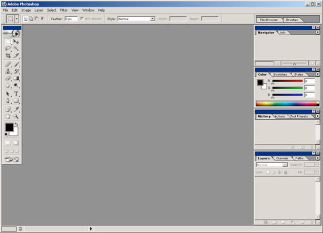 Photoshop 7.0 and the Web