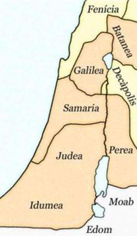 Roma incorpora la región. Se unifica con Siria.