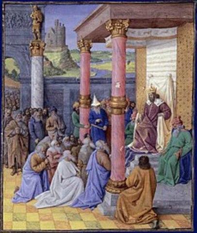 Cae Babilonia, dominio Persa.