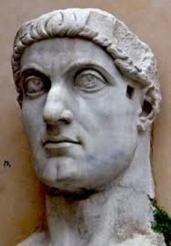 Emperador romano cristiano en Jerusalén