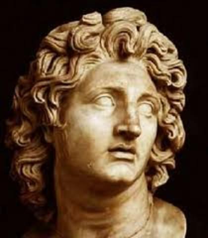 Dominio griego. Alejandro Magno conquista la región