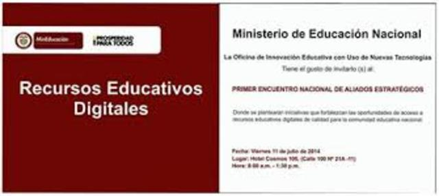 Conceptualización de Recurso Educativo Digital en Colombia