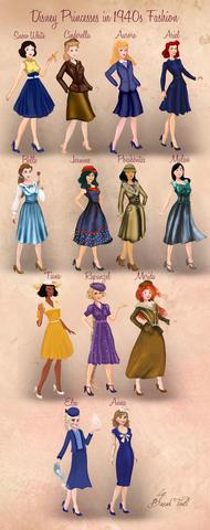 48234e9e33b 1940 s - 1950 s Fashion Decade known as