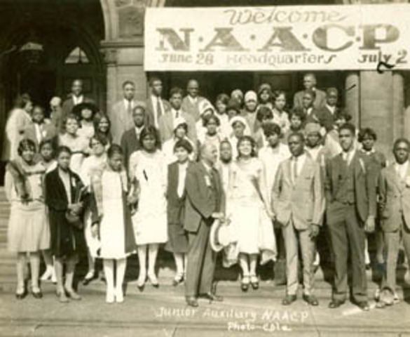 DuBois Shares founding of the National Association for the Advancement of Colored People (NAACP).
