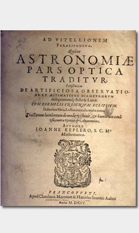 Astronomiae pars Optica (The Optical Part of Astronomy)