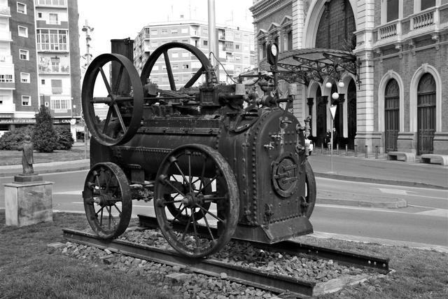 Desarrollo de la máquina de vapor
