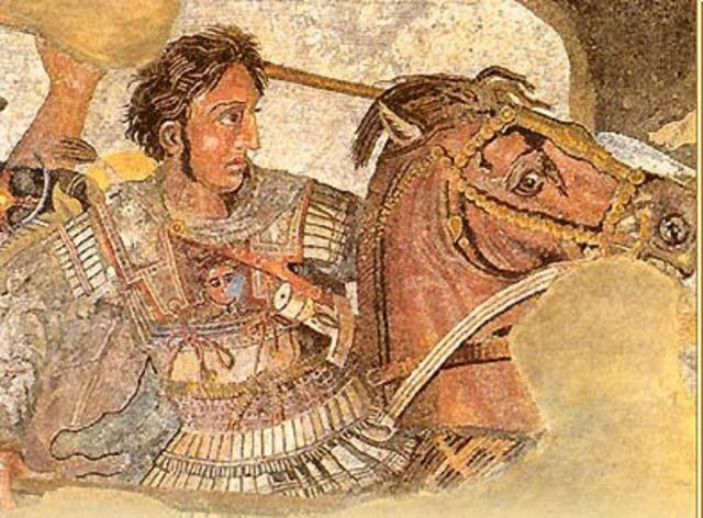 Alejandro cruza el Helesponto