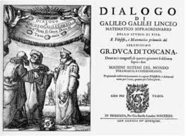 Dialogues Concerning the Two Chief Systems of the World published by Galieo