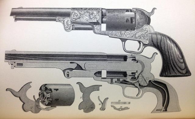 Invención del revólver