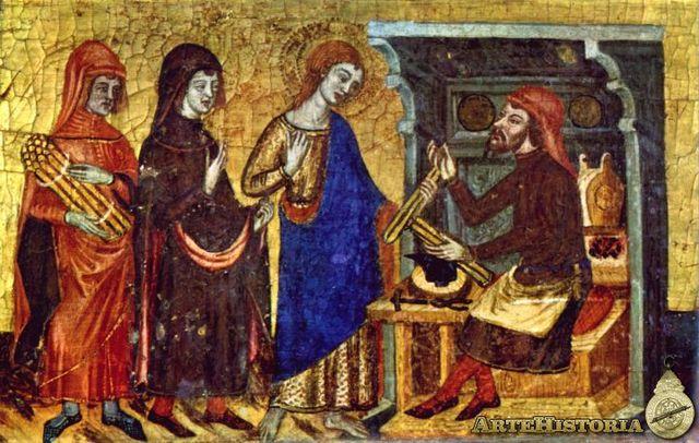 Escuela Siglo XIV