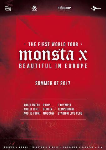 Primer Tour Mundial de Monsta X