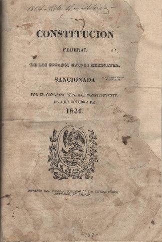 Constitucion Federal de Centroamerica 1824