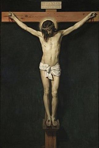 Crucificación y resurrección de cristo