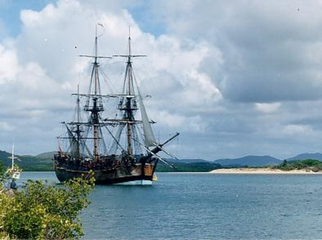 "Australia: Capitan James Cook - ""Terra Nulius""."
