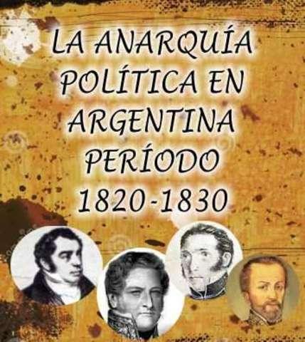 Anarquia de 1820