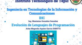 LENGUAJES DE PROGRAMACIÓN: IHC-ArleyAquino-ITTepic. timeline