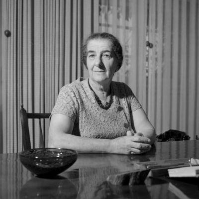 Golda Meir timeline
