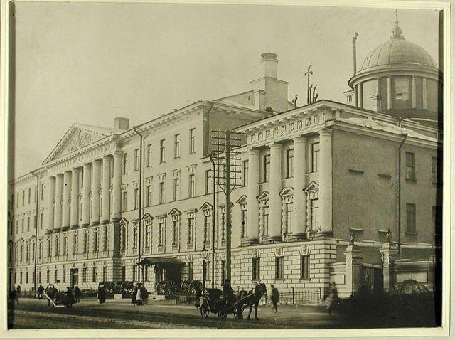 Поездка в Санкт-Петербург, знакомство со Сперанским и член военной комиссии