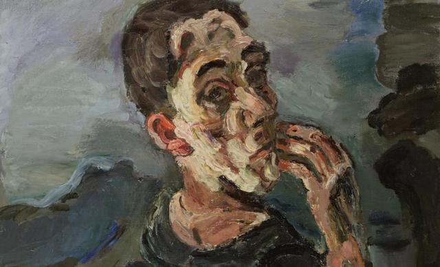 Self-Portrait, One Hand Touching the Face
