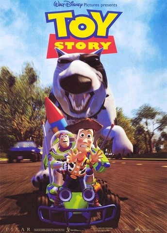 Toy Story the first full-length 3D CG feature film