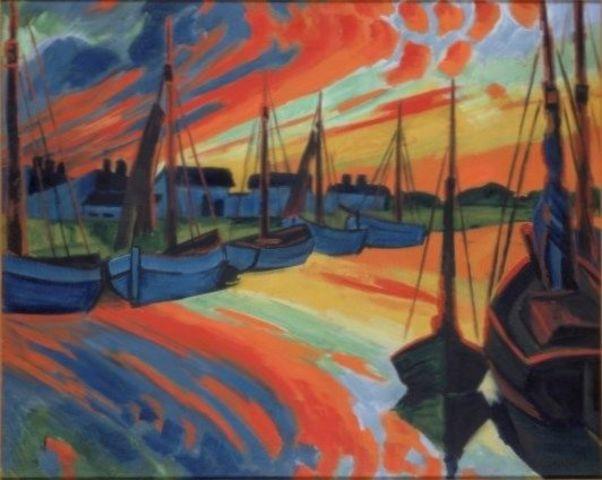 Hafen von Leba
