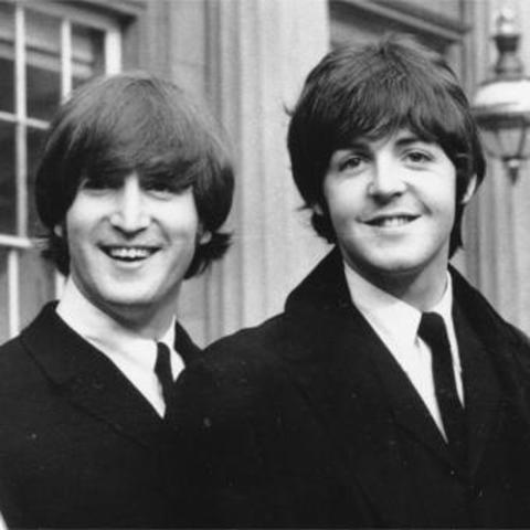 Lennon meets McCartney