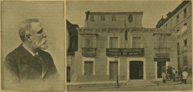 """Fundación de """"La gota de Leche"""""""
