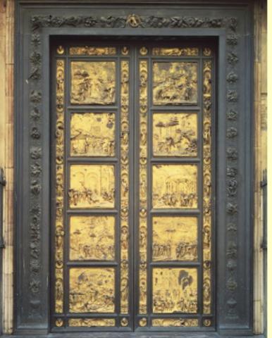 Lorenzo Ghiberti wins major competition