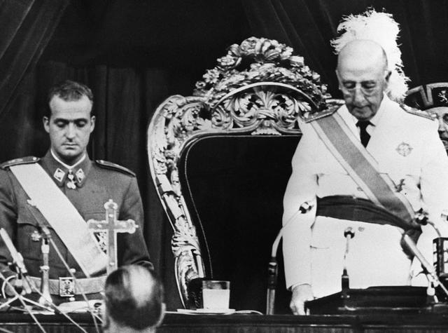 Juan Carlos nombrado sucesor