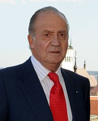 Proclamación Juan Carlos I como rey de España
