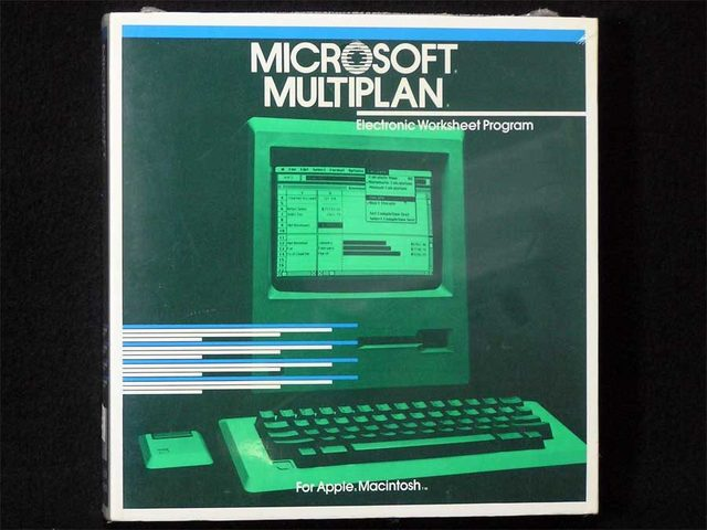"""Multiplan"" (разработчик: Microsoft)"