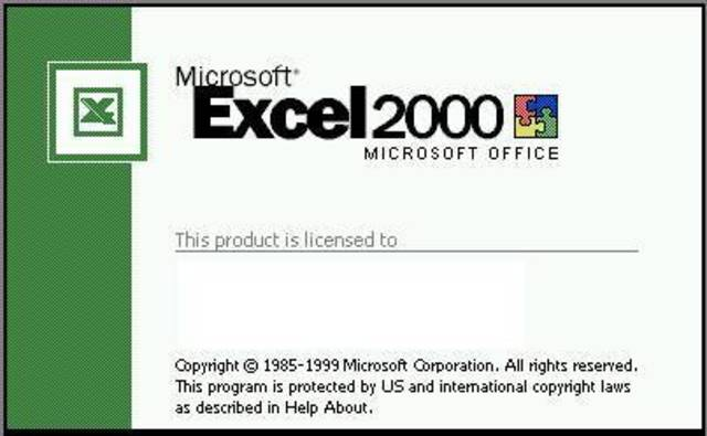 Excel 2000 (9) -  Microsoft Office 200